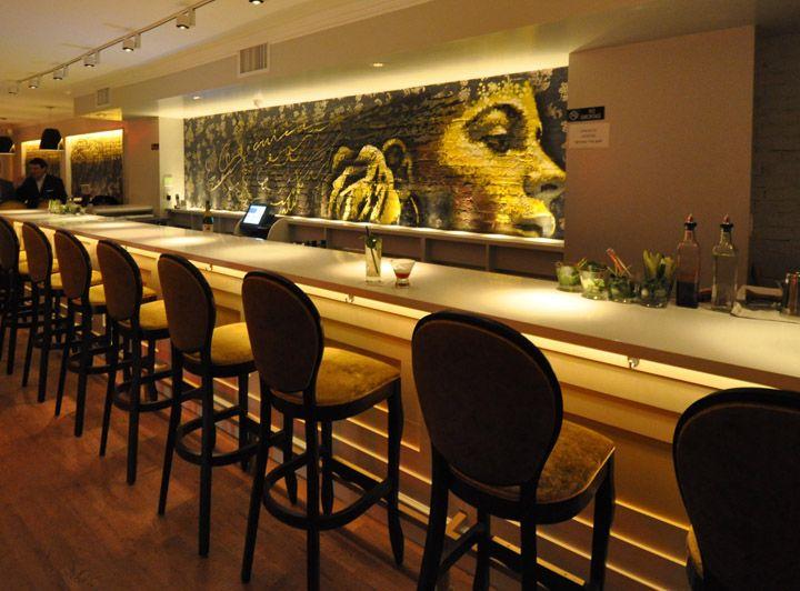 Gastroarte Restaurant By Garrett Singer Architecture Design New York Retail Design Blog Bar Design Restaurant Restaurant Design Manhattan Restaurants