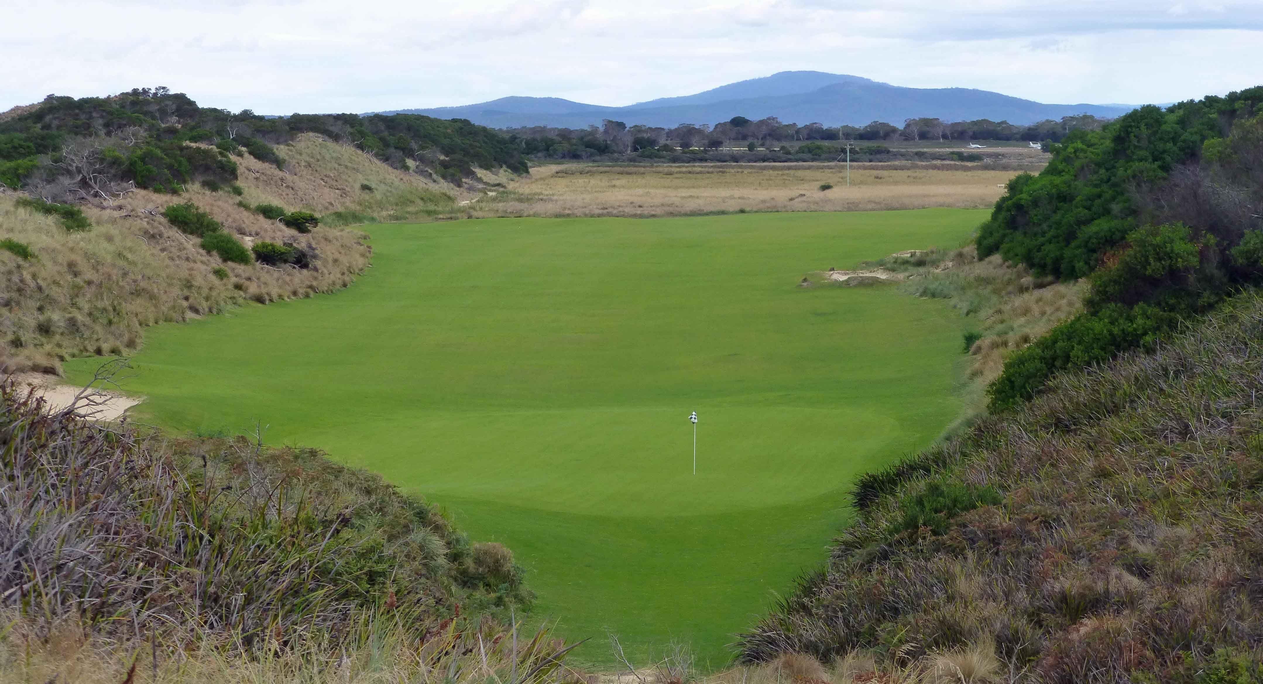 Lost Farm Golf Club in Tasmania