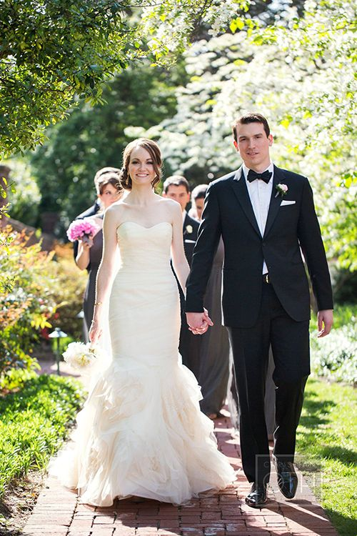 A Glam Pink And Gold Wedding In Washington D C