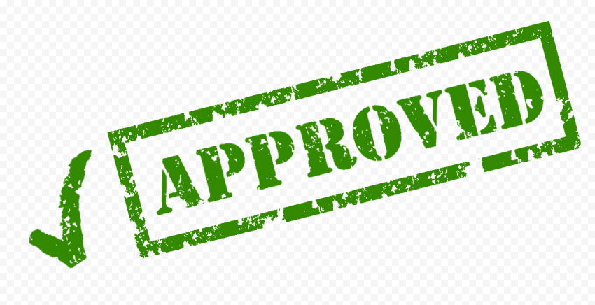 Green Rectangle Approved Stamp Approved Stamp Stamp Rectangle