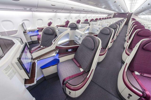 Qatar airways new a380 business class! For more: http://www.tipsfortravellers.com/qatar-airways-a380-review/ #qatarairways #A380inaugural