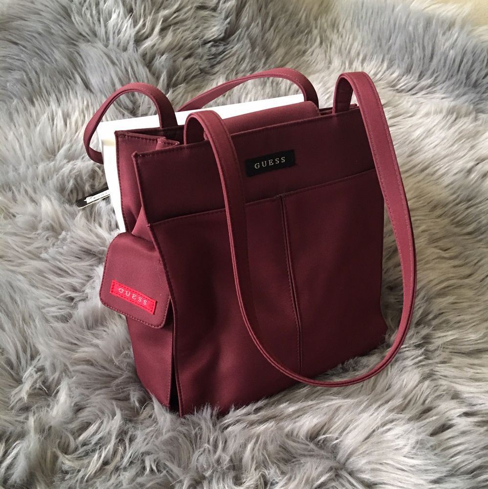 c21f5d7274 90s Guess Cherry Brick Red Hand Bag  fashion  clothing  shoes  accessories   womensbagshandbags (ebay link)