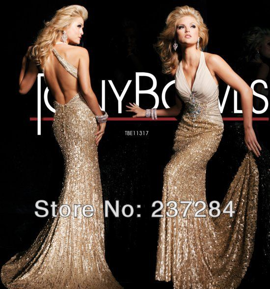 11317-sexy-sequined-gold-prom-dress-2013 | Prom | Pinterest | Gold ...