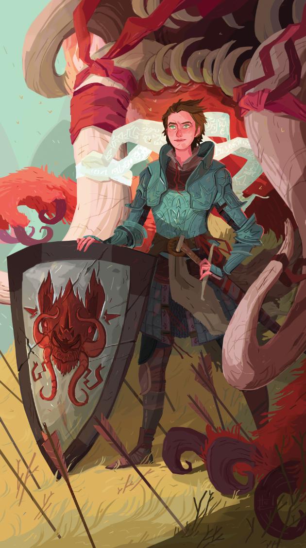 Adah The Shield by Nafah.deviantart.com on @deviantART
