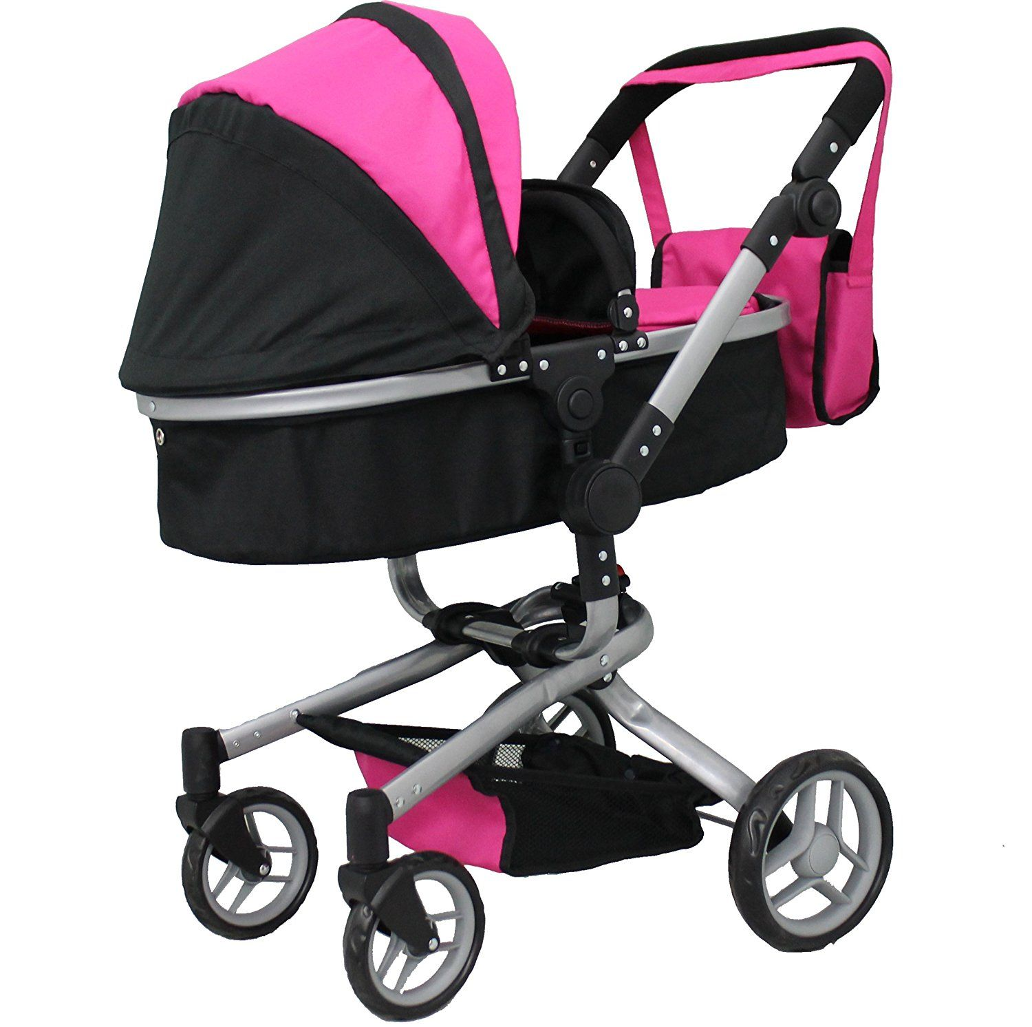 Double Dolls Pram Amazon Amazon Mommy Me 2 In 1 Deluxe Doll Stroller Extra