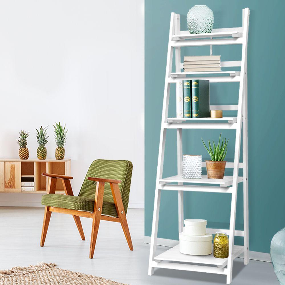 Driver 5 Tier Display Ladder Online Only White Matt Blatt In 2020 Shelves Display Shelves Australia Living