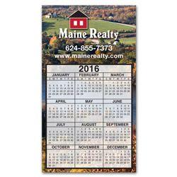Calendar Large Magnet 3-29/32 x 6-15/16 #magneticcalendar #promoteyourbusiness #thankyou #realtors