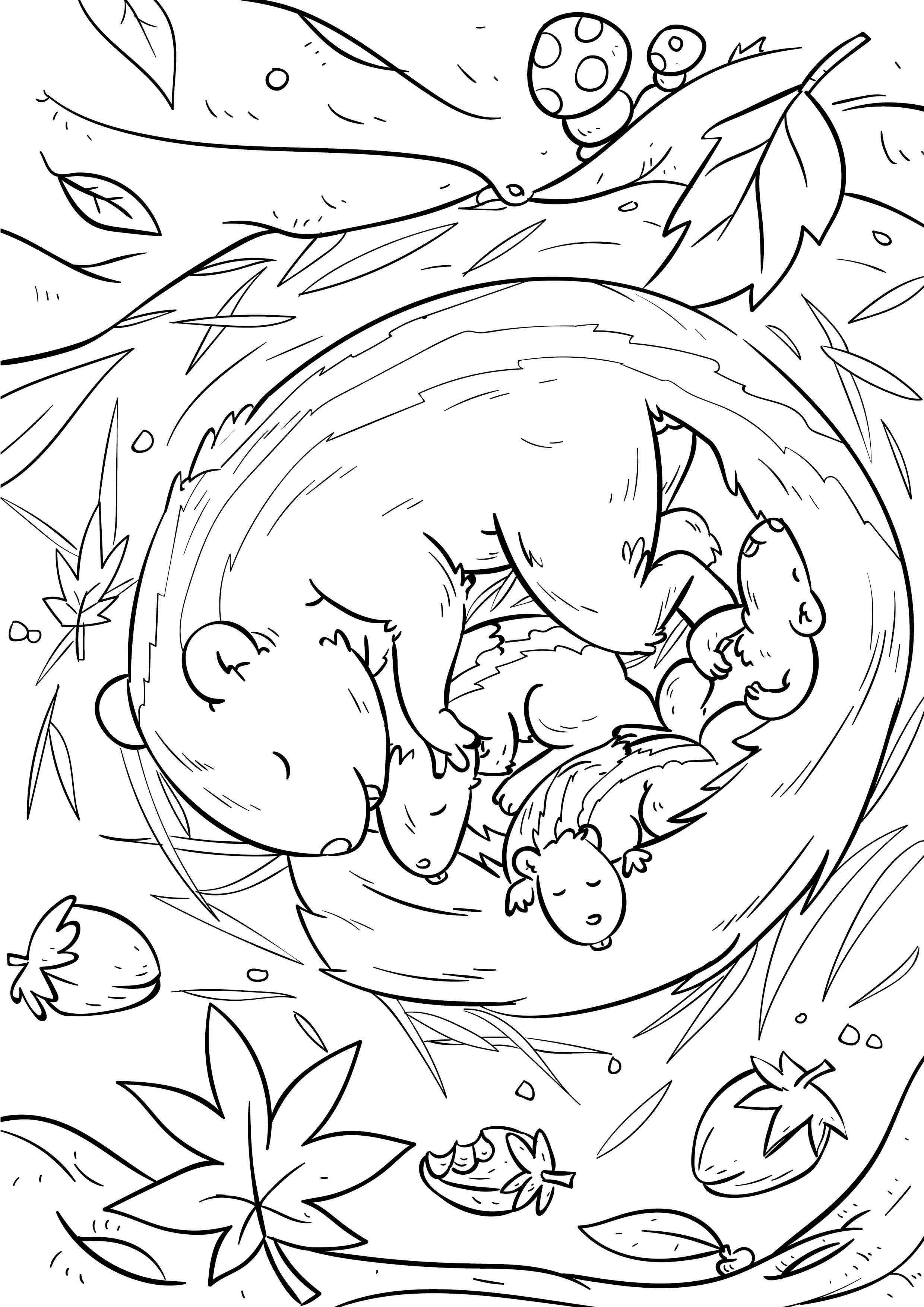 eichhörnchen mandalas ausdrucken #malvorlagen #