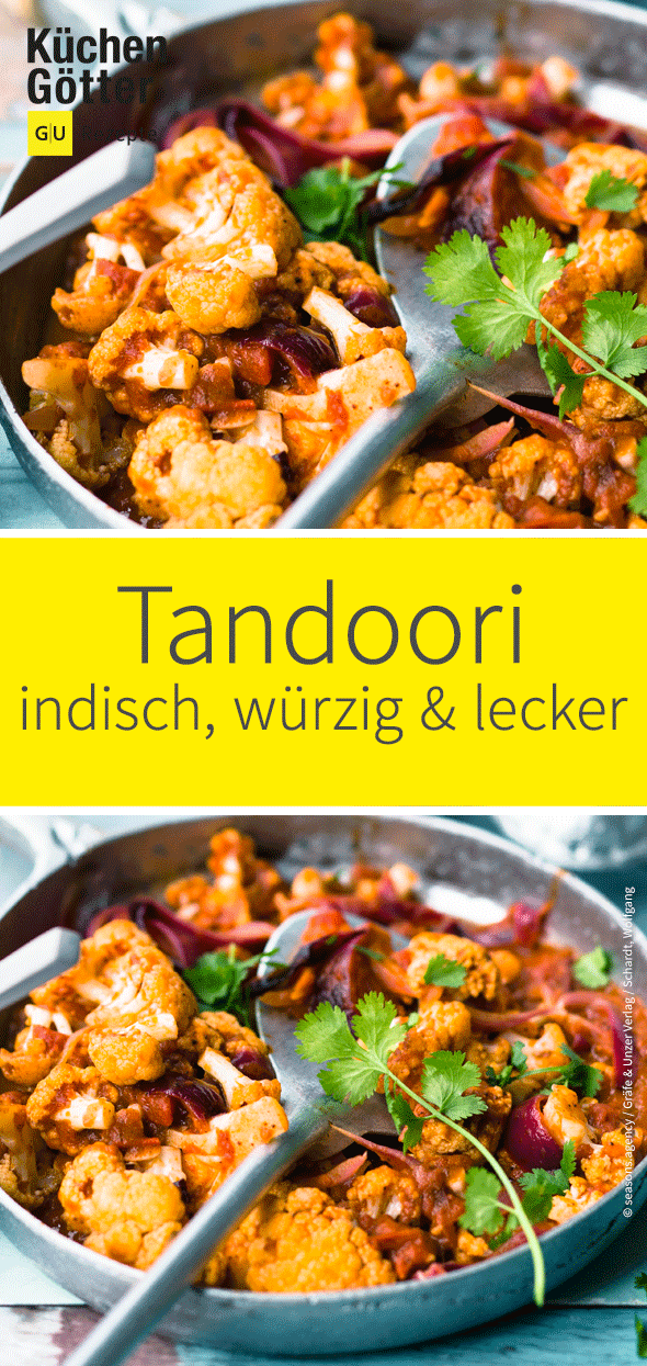 Tandoori-Blumenkohl mit Joghurt #ricedcauliflower