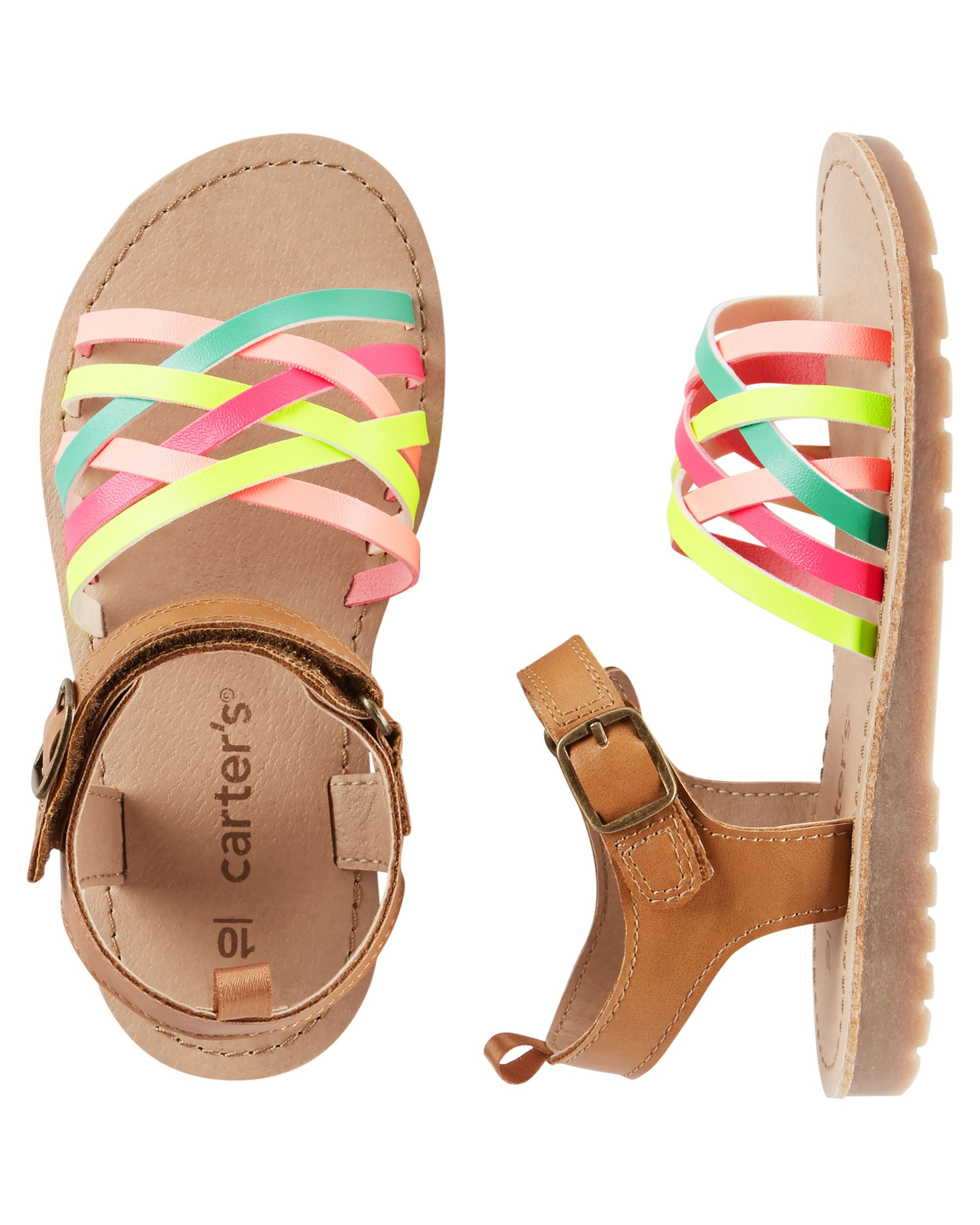 29b00a8d41da Carter s Strappy Sandals