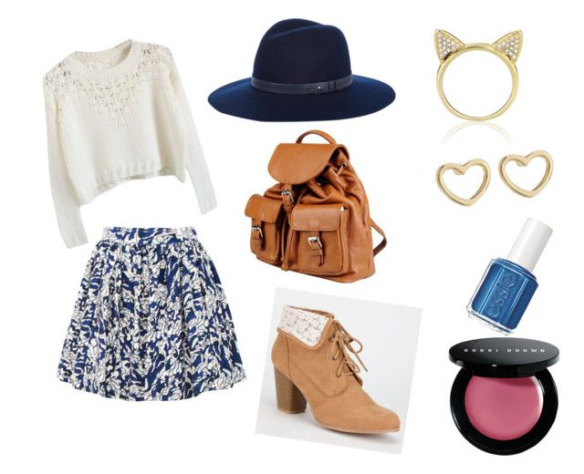 """""""Girly Blue"""" by g4glitter on Polyvore"""