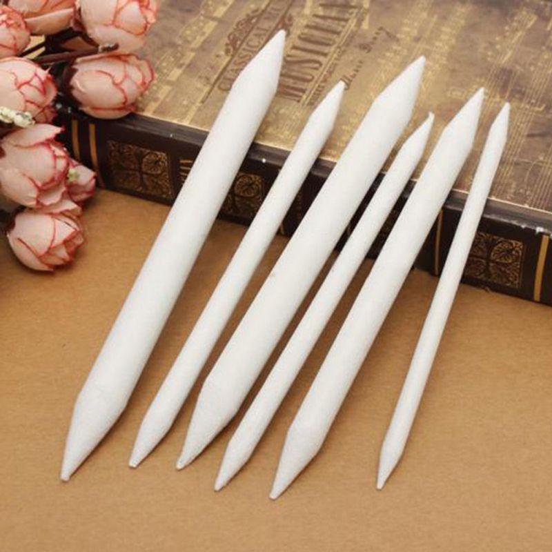 Blending White Sketch Tool Drawing Pen Tortillon Art Drawing Pen Drawing Tool