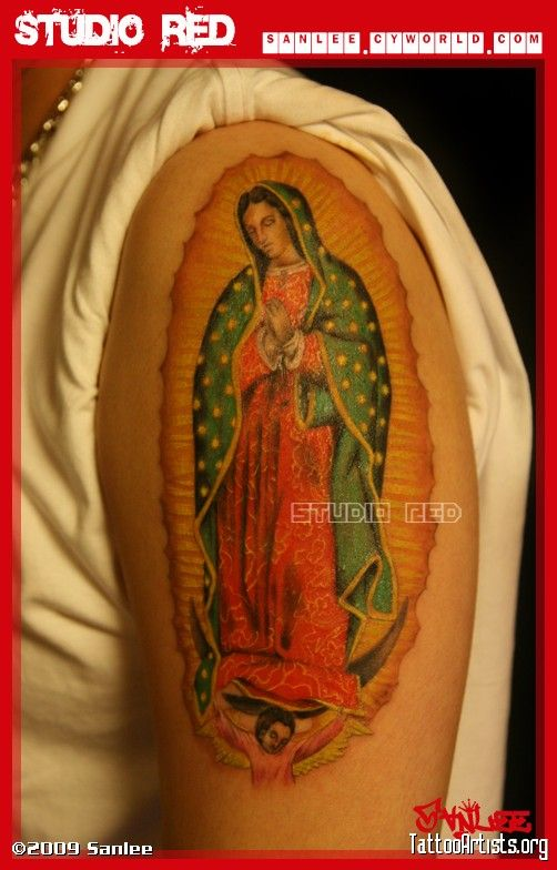 our lady of guadalupe tattoo virgin of guadalupe tattoo pinterest tattoo. Black Bedroom Furniture Sets. Home Design Ideas