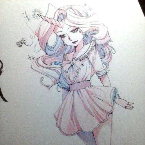 By Zambi #rarity #sketch #drawing #art #mylittlepony