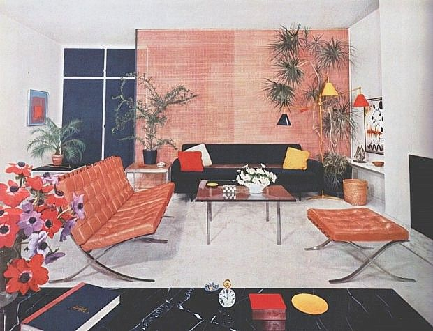 Interior late 50s early 60s.