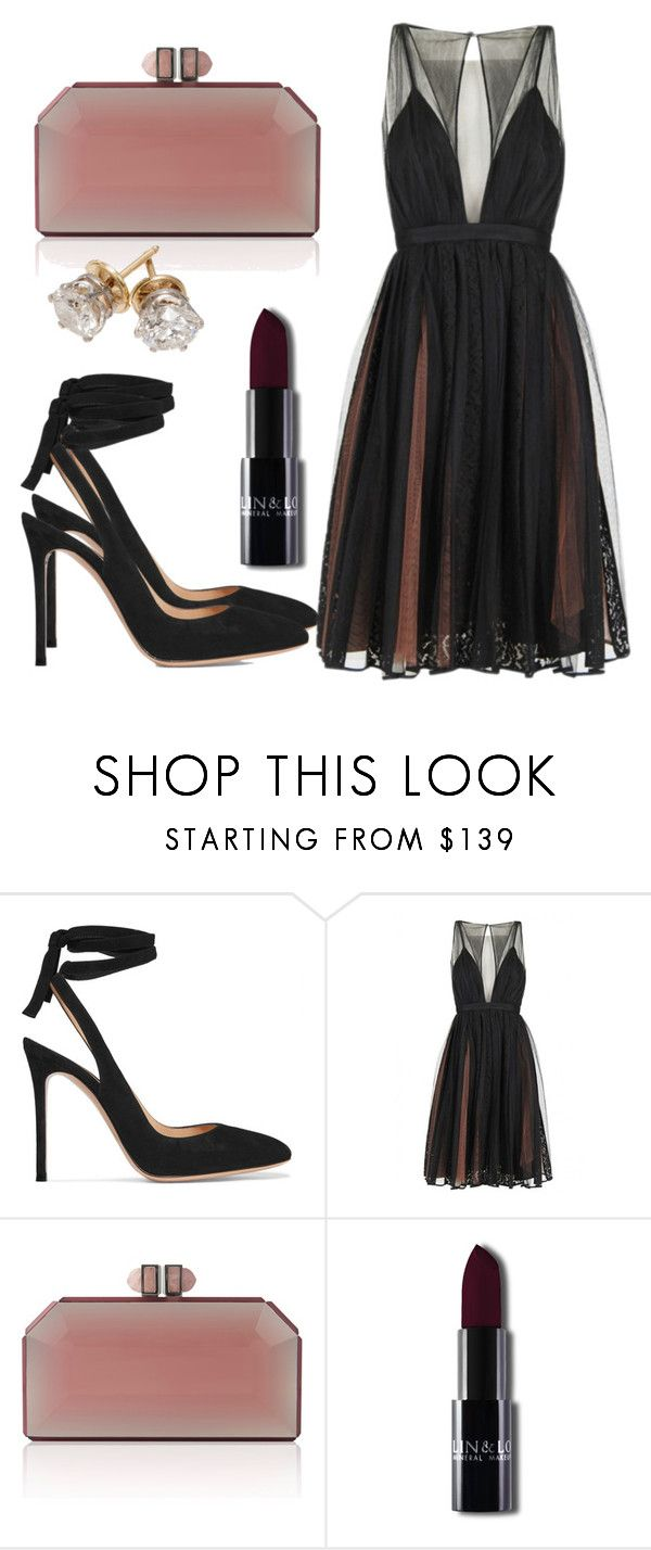"""Untitled #5272"" by beatrizvilar on Polyvore featuring Gianvito Rossi"