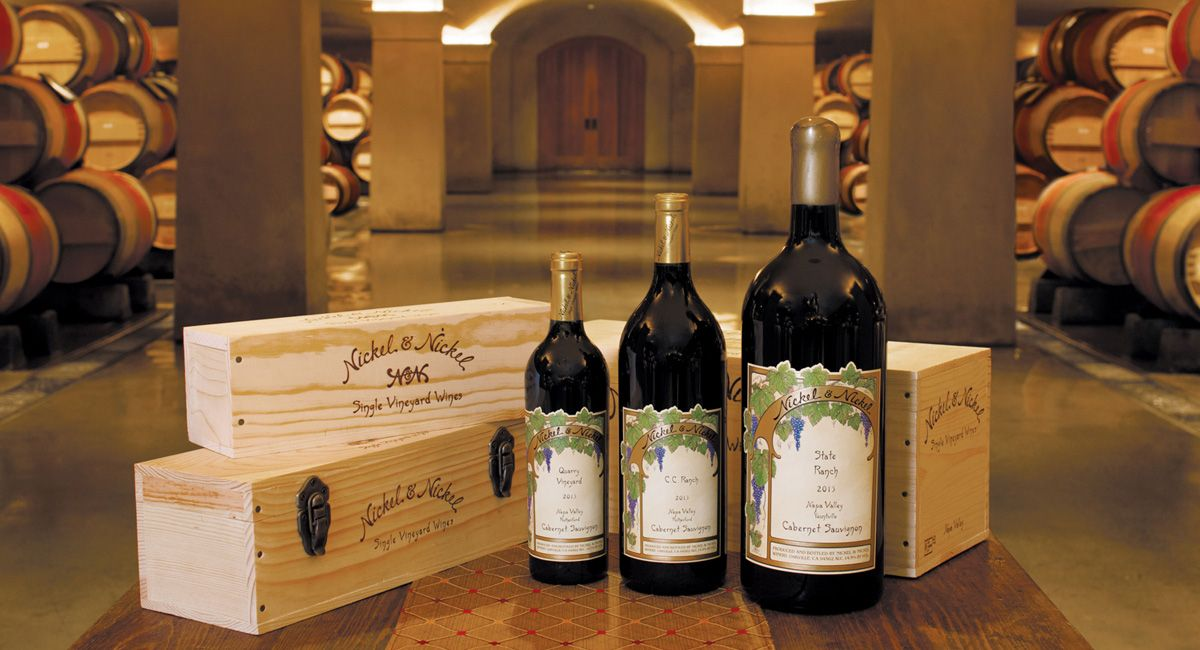 Discover the beauty of Large Format Wines: eye catching Napa Valley wine gifts that serve and cellar beautifully.