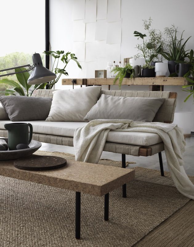 The perfect items for a calm zen-like home SINNERLIG daybed / IKEA