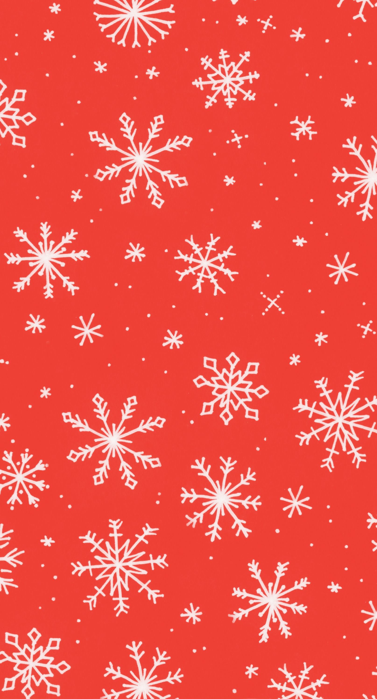 Snowflakes Print Greetabl Wallpaper Iphone Christmas Xmas Wallpaper Christmas Phone Wallpaper