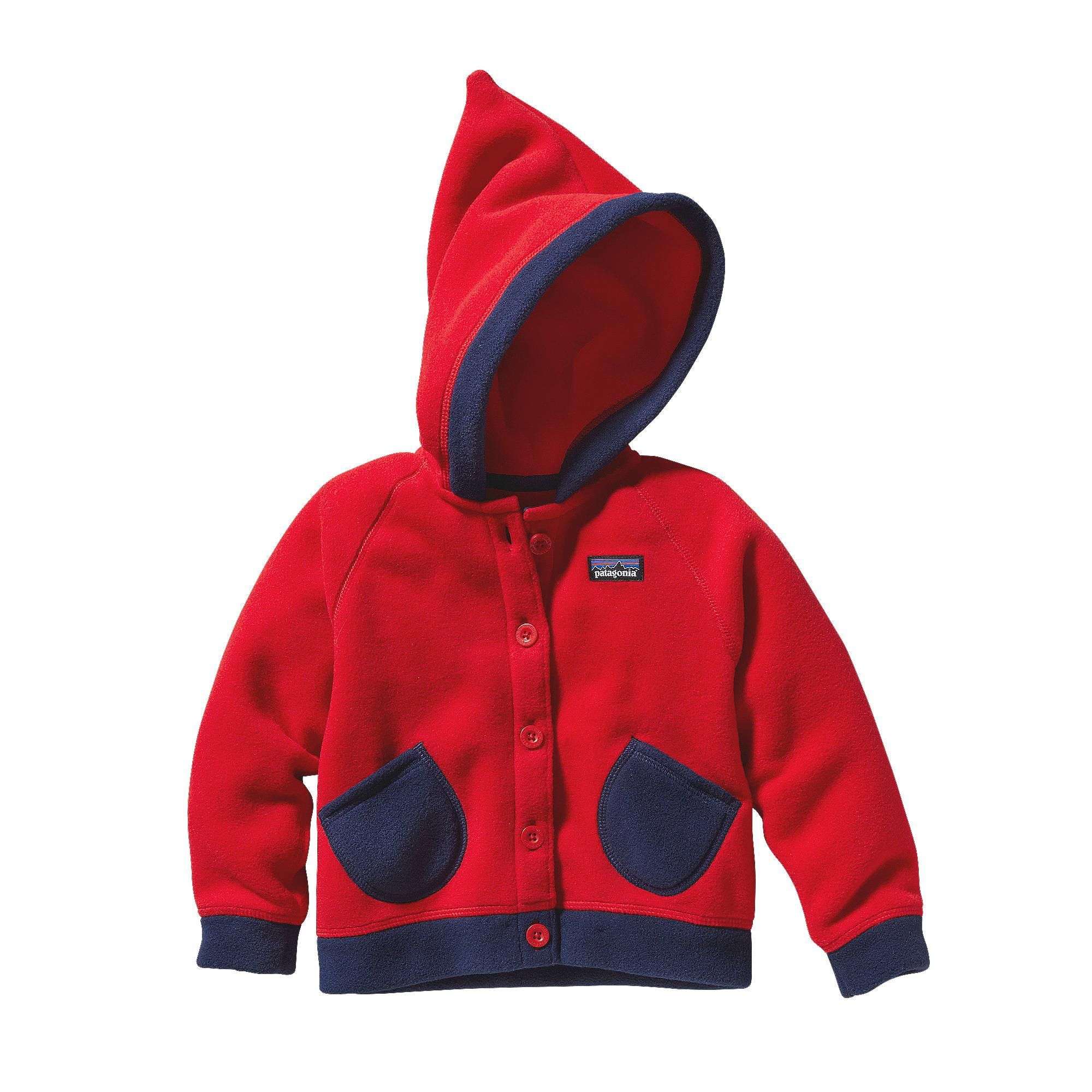 Patagonia Baby Swirly Top Jacket - An impishly pointed hood tops ...