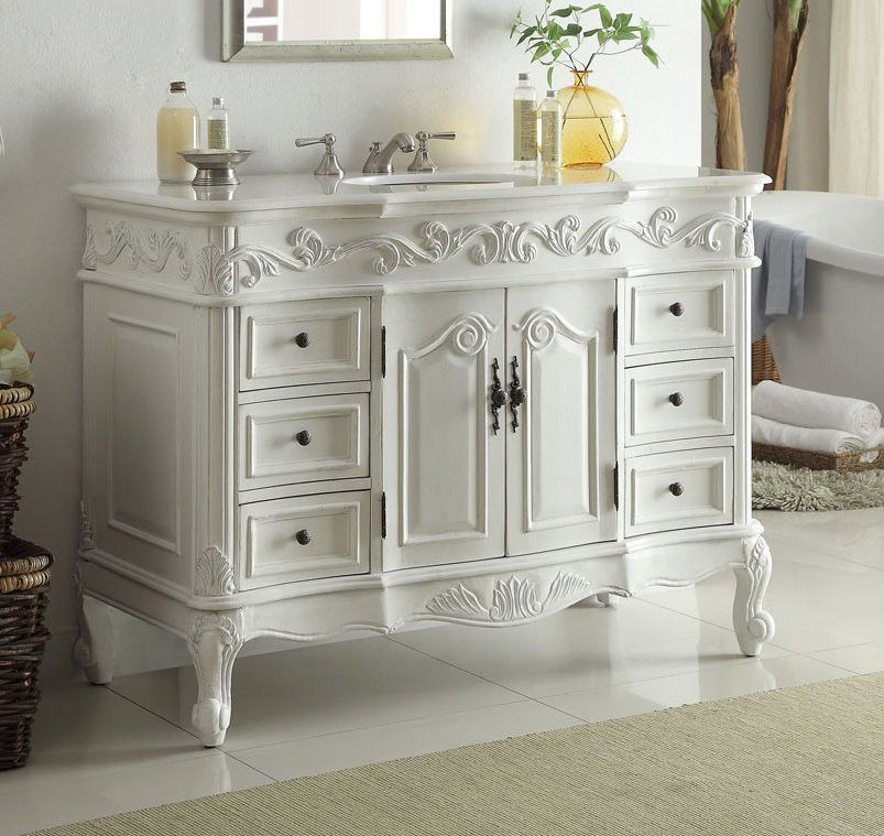 Details About 32 Traditional Style Antique White Fiesta