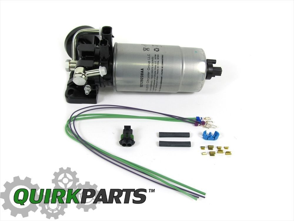 Details About Jeep Libery 2 8 Diesel Fuel Filter Water