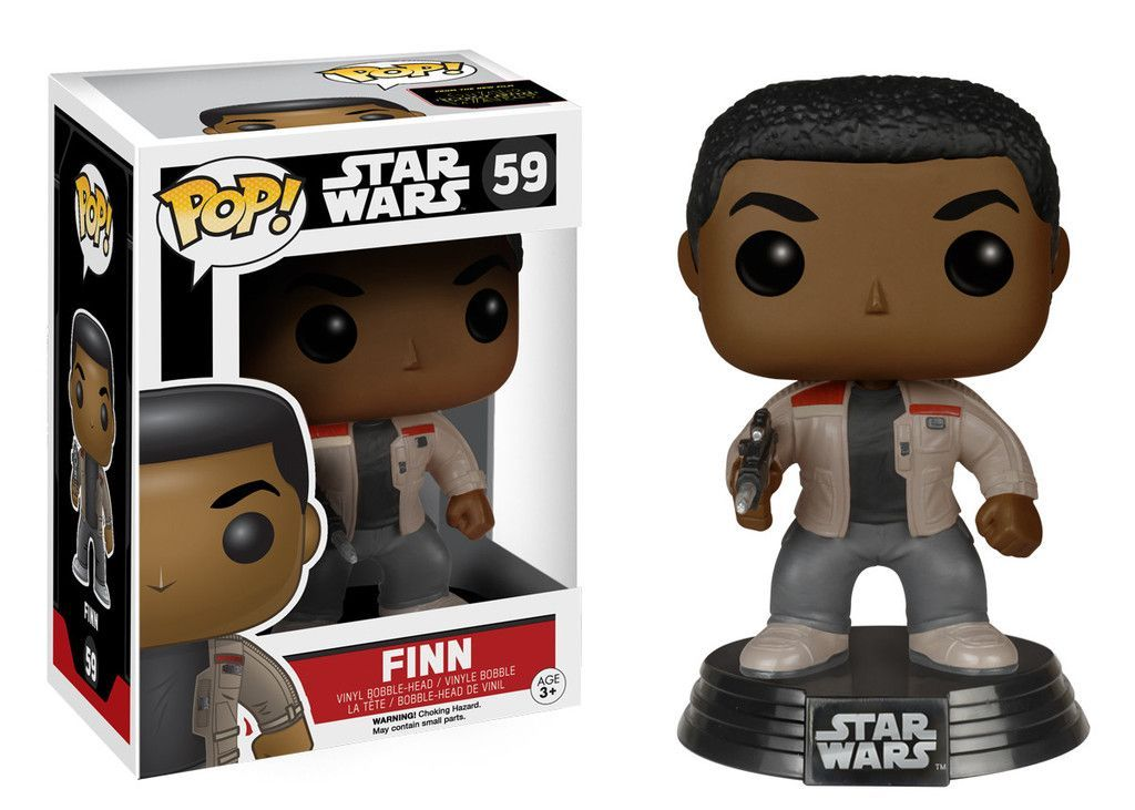Star Wars Episode 7 is coming. Finn is ready, are you?