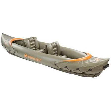 Sevylor Clear Creek 2-Person Inflatable Kayak - Walmart com