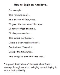 how to begin an anecdote love this for the simple fact it can make explore expository essay examples and more