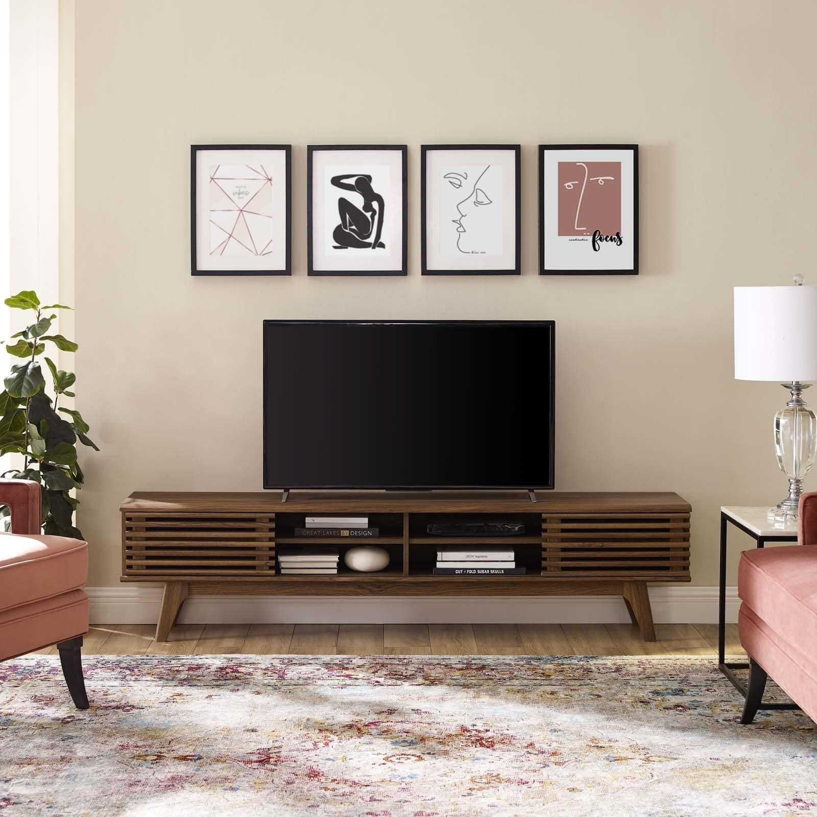 Carson Carrington Espoo 70 Inch Entertainment Center Tv Stand