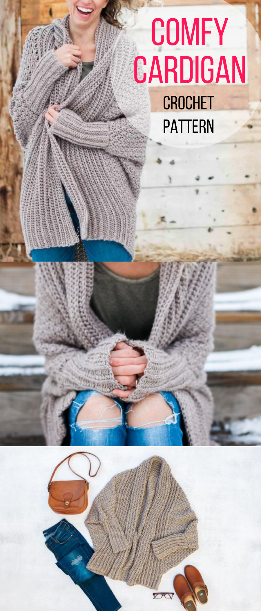 The Habitat Cardigan | Crochet or Knit, If Only I Knew How ...