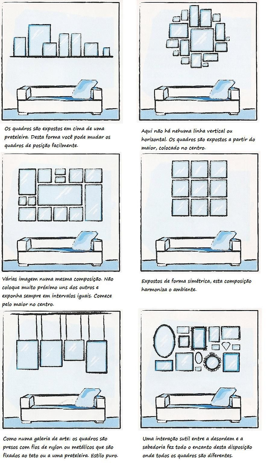 Disposici n de cuadros encima del sof salones y comedores pinterest sof cuadro y interiores - Cuadros para encima del sofa ...