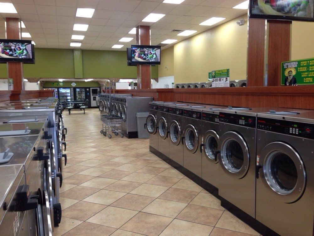 View From The Front Door Yelp Laundry Business Laundromat