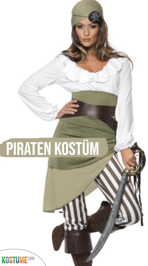 Sassy Piratin Kostüm