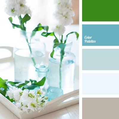 Aqua Blue Shades Gray Brown Color Palette