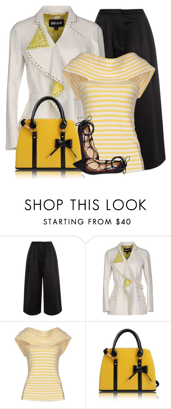 """""""Taxi Plie'"""" by maison-de-forgeron ❤ liked on Polyvore featuring Edit, Just Cavalli, Andrea Turchi and Steve Madden"""