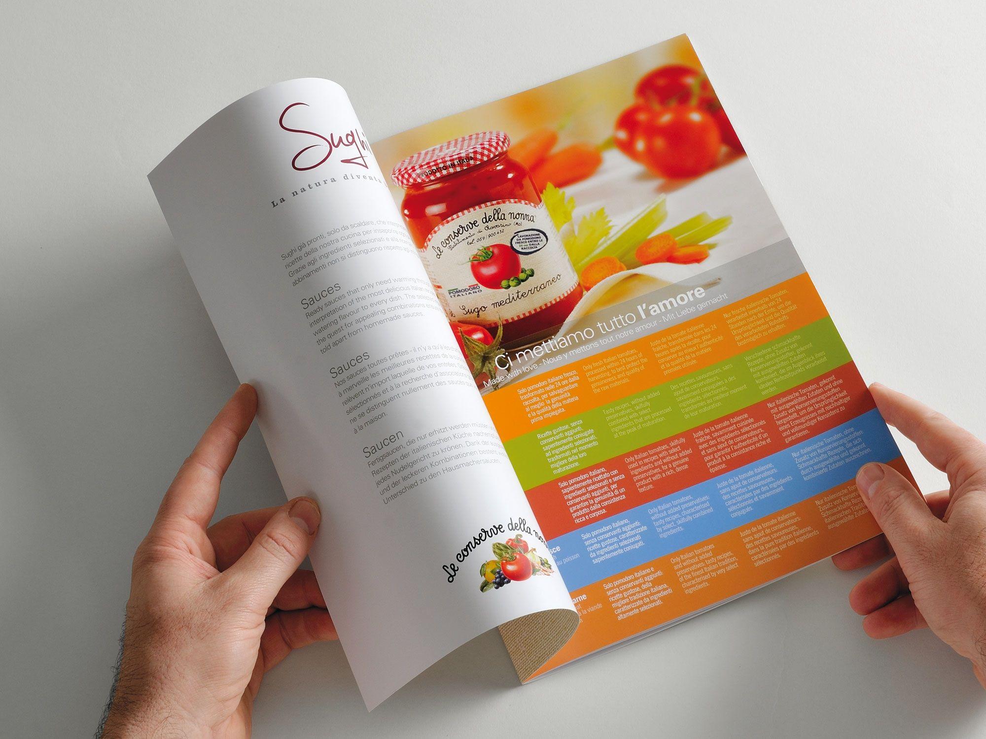 Le Conserve della Nonna / Key Business / Perugia / Graphic Design Agency
