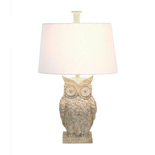 Ambherest owl table lamp aloadofball Image collections