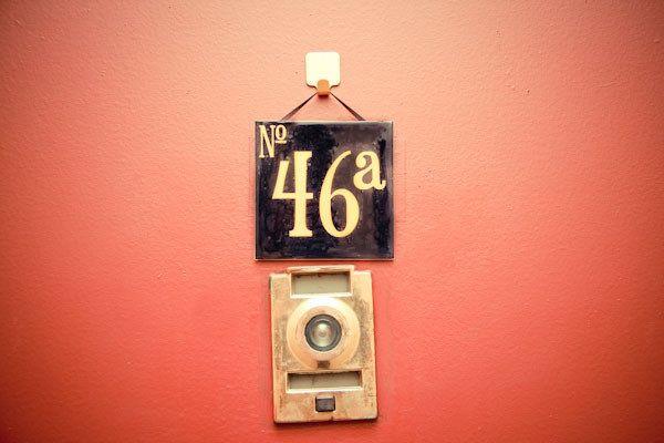 Apartment Door Number | DIY | Diy door, Door numbers ...