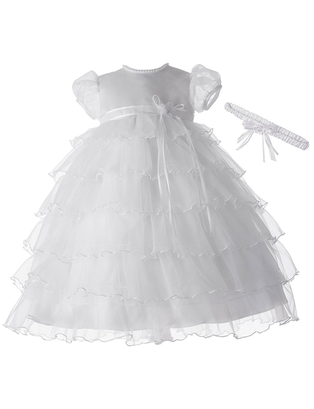 Handmade Beautiful 3d baby dressed in a layered christening gown Christneing day card CHRISTENING