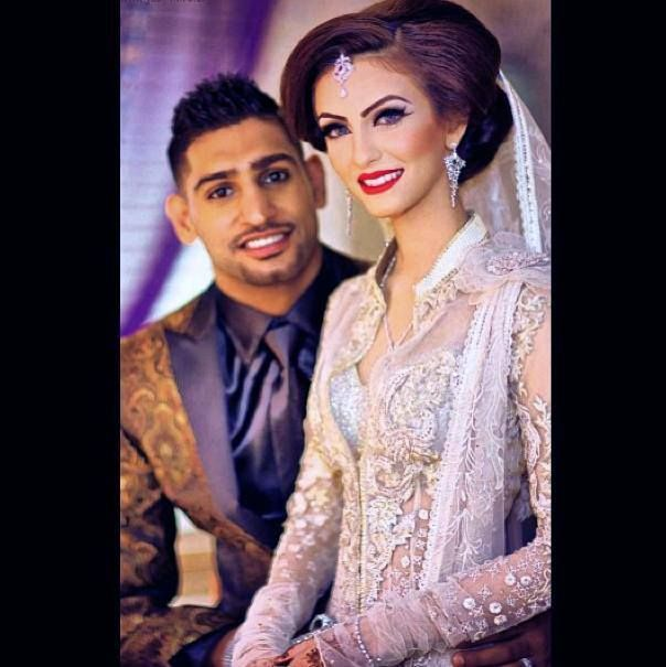 AMIR KHAN AND FARYAL MAKHDOOM WEDDING Unrealistically Beautiful Couple