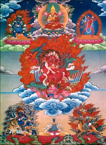 Dorje Shugden Trakze to Dispel Black Magic & Spirits