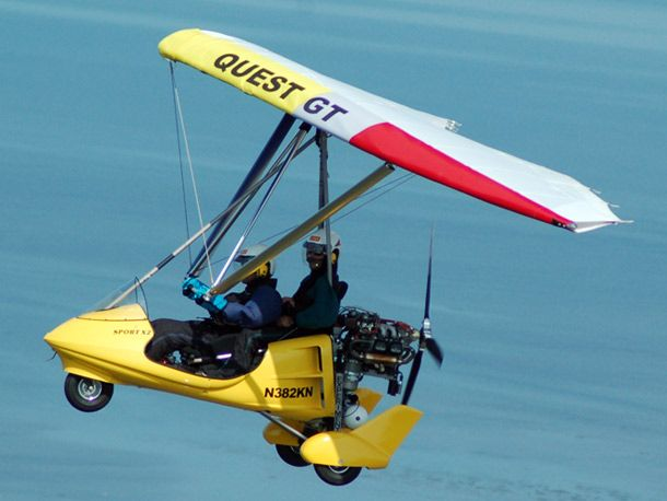 North Wing Quest 2 Two Person Ed Hang Glider