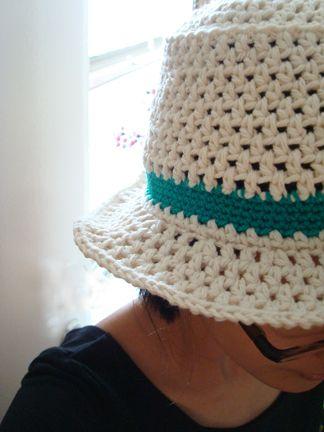 Bucket of sun cotton hat