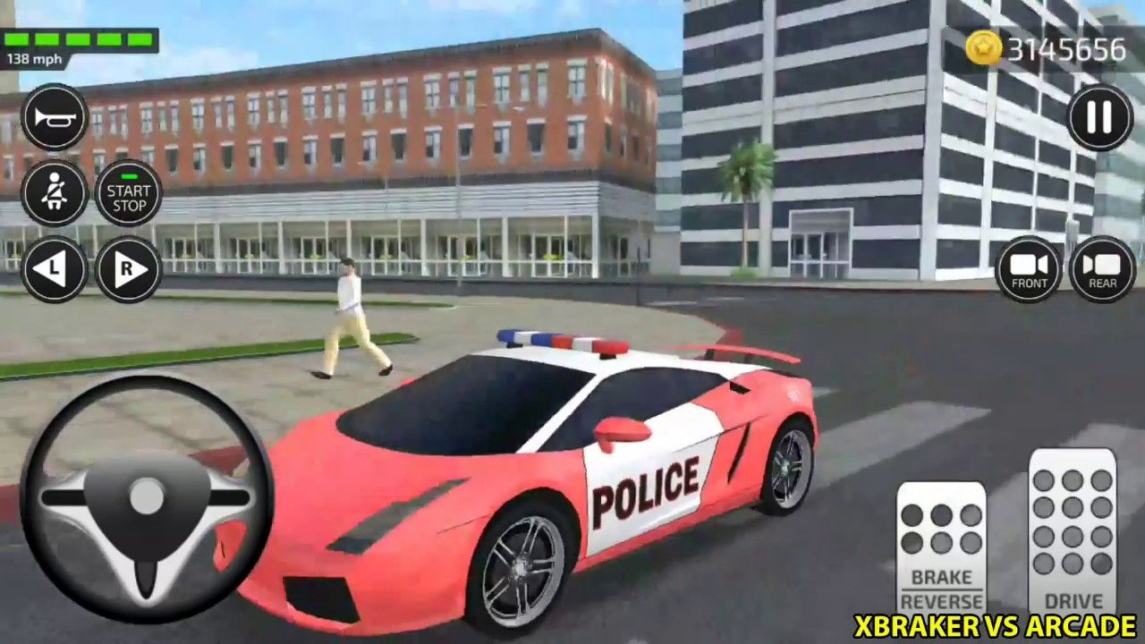 Car Driving Academy 2018 3d New Paint Police Car Unlocked Android