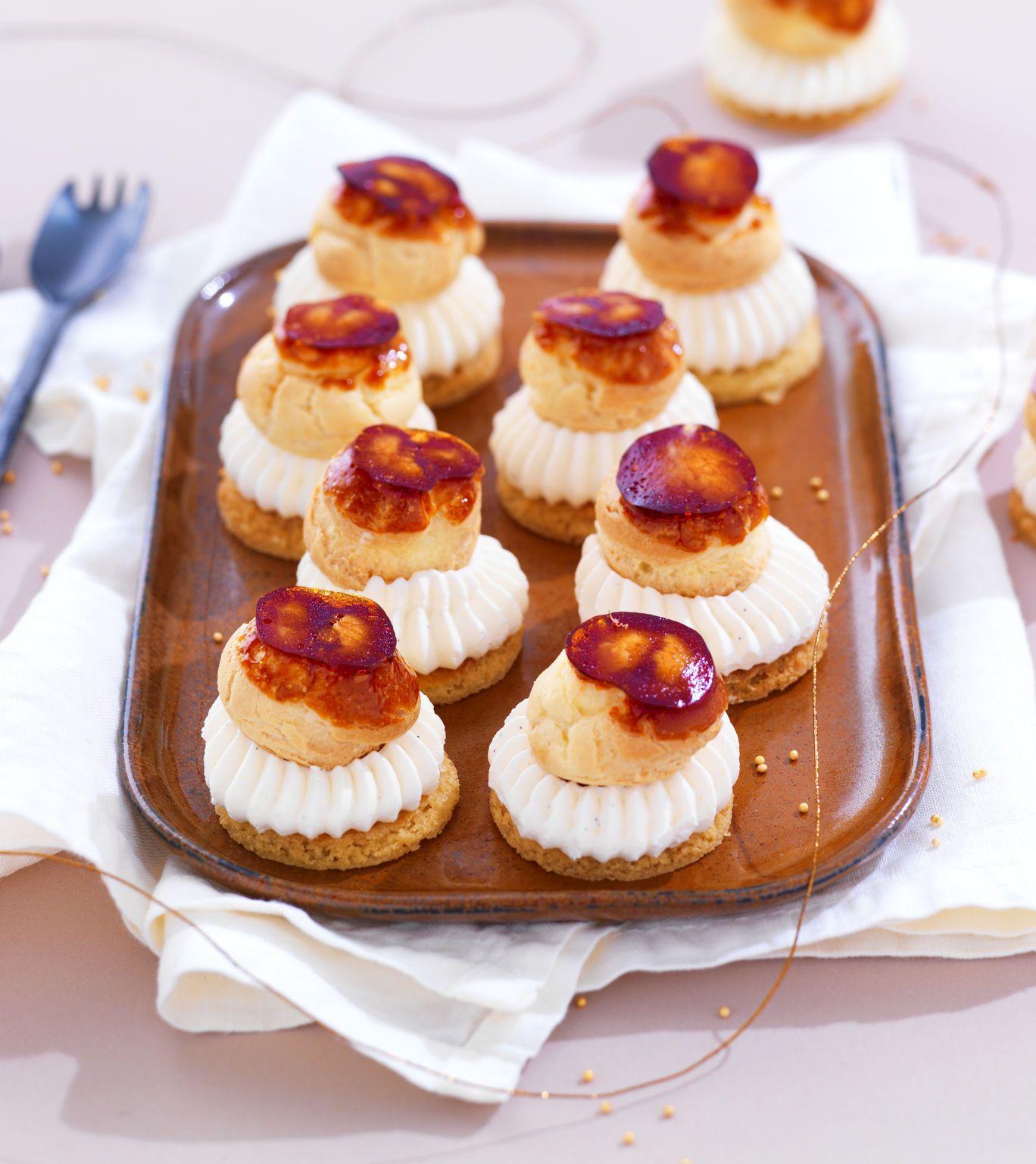 Mini saint honor pour vos desserts de f tes retrouver - Dessert pour apero dinatoire ...