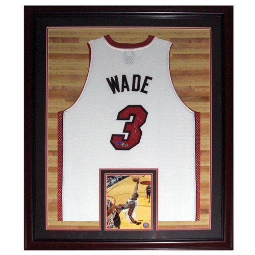 finest selection c6275 90a4d Pin by Kim Allen on HEAT NATION   Framed jersey, Miami Heat ...