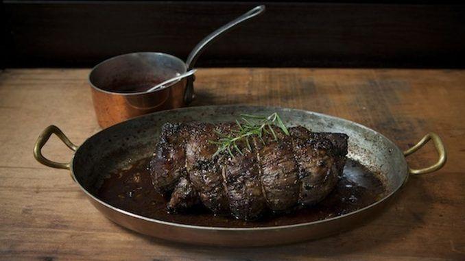 Steinpilz-Rosmarin-Rinderfilet mit Portweinsauce - Rezepte vegetarisch #shrimppasta