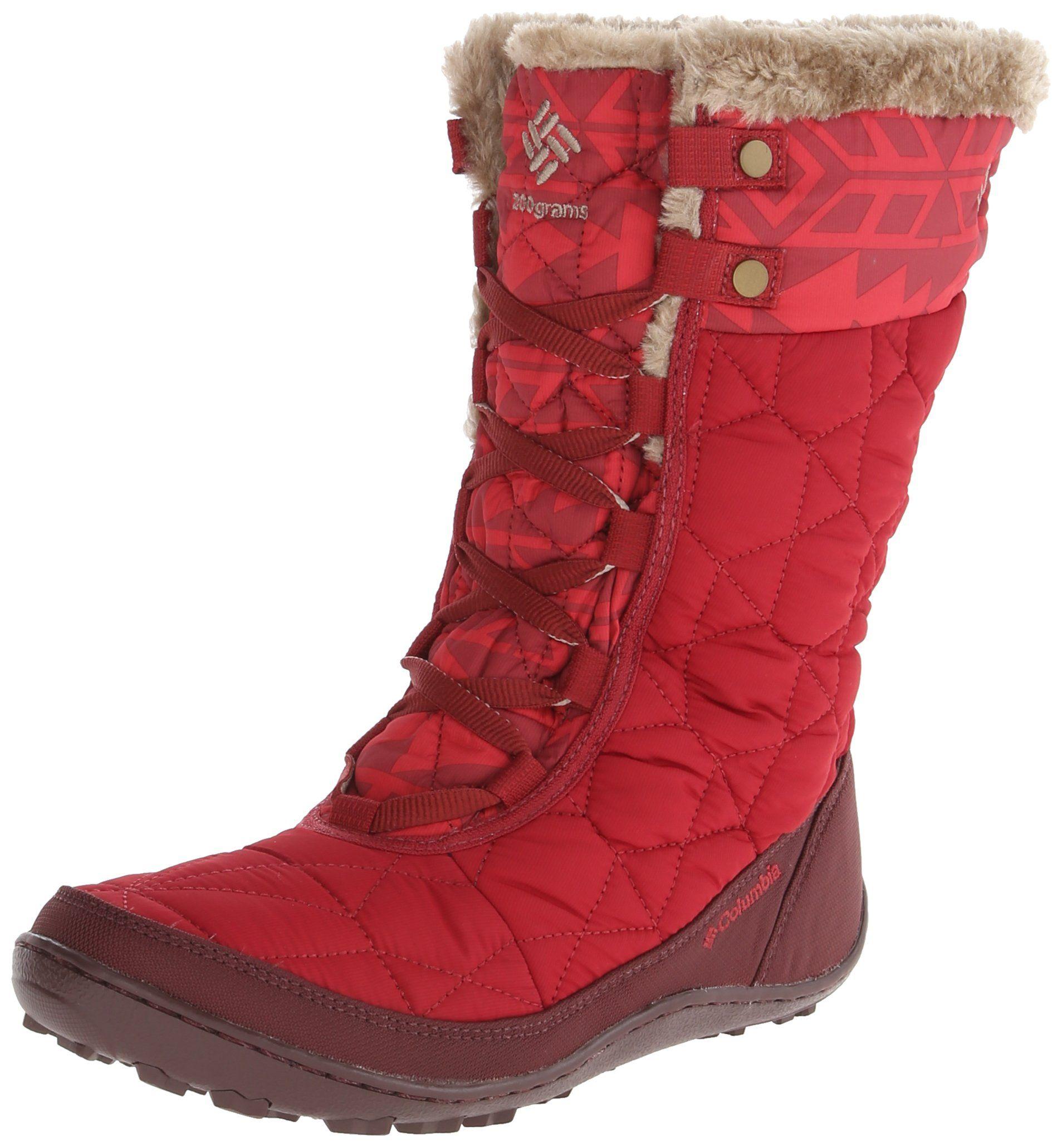88489cd112 Columbia Women s Minx Mid II Omni-Heat Print - Botas de nieve de sintético  mujer  Amazon.es  Zapatos y complementos