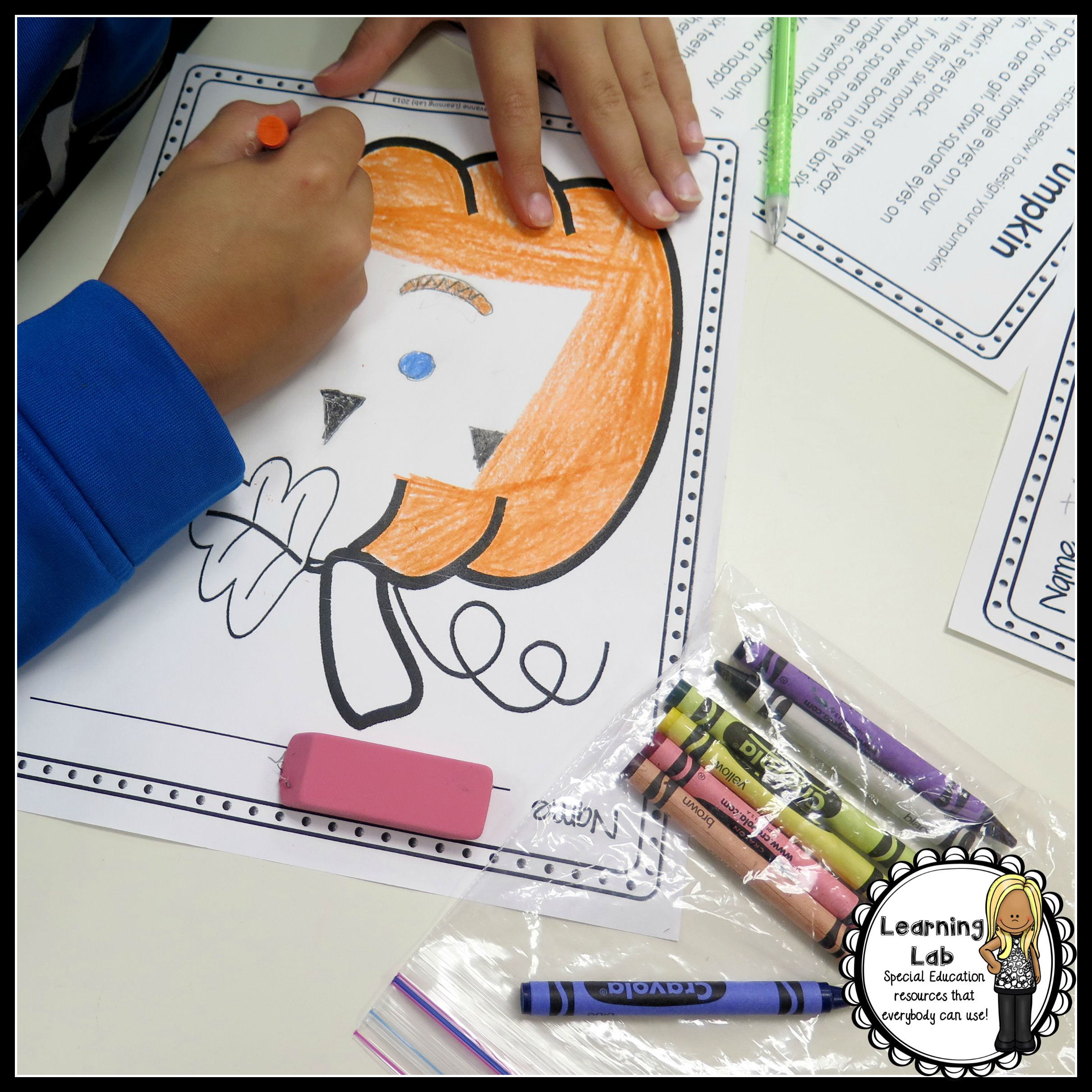 Design A Pumpkin Following Directions With Images
